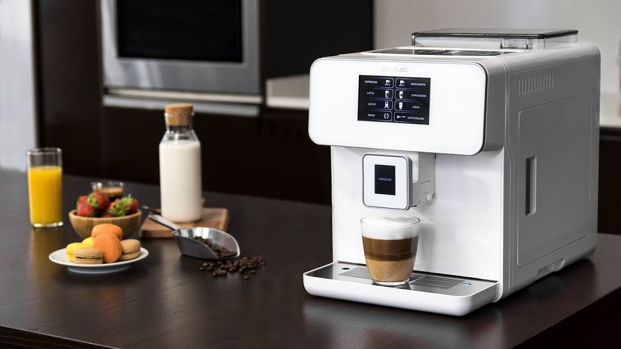 Cecotec Cafetera Automatica Power Matic-ccino 8000 Touch Serie Nera
