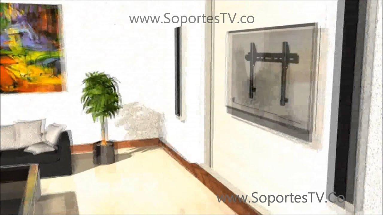 Venta instalacion soportes de pared televisores lg samsung - Soportes altavoces pared ...