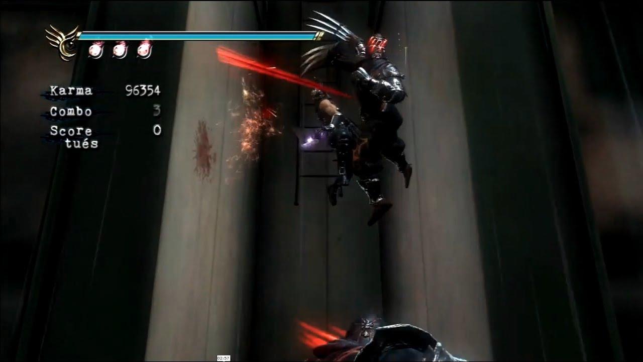 Ninja Gaiden Sigma 2 Power Of Counter Ninja Claw Youtube