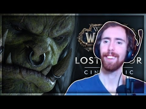 "Asmongold Reacts to ""Lost Honor"" (WoW Cinematic)"