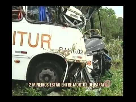 Mineiros que morreram em acidente com ônibus em Paraty devem ser sepultados hoje
