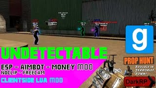 [Undetectable] GMod Mod (DarkRP, NoClip AND MORE!) VAC/GAC PROOF
