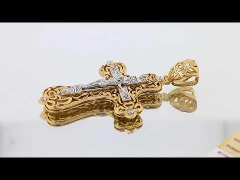 Золотой крест арт. 30286сбк