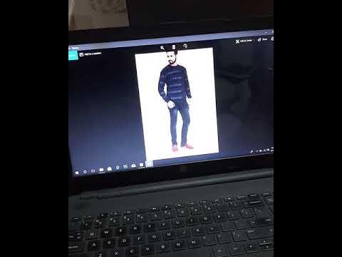 E-commerce male model