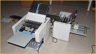 Automatic folding machine A3 automatic paper folding machine