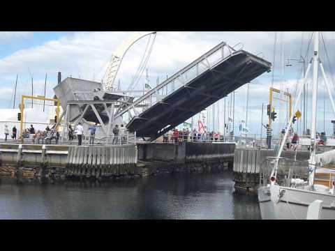 Bascule Bridge, Constitution Dock, Hobart