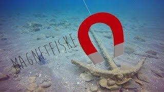 Magnetfiske: hittar hemlig lucka på botten?