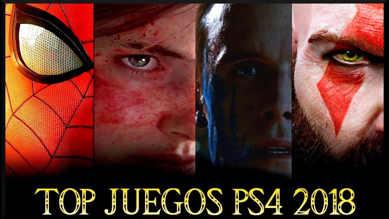 Top 10 Juegos Mas Esperados Mejores Juegos Ps4 2018 Youtube
