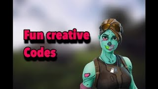 Fun creative codes(Fortnite Battle Royale)