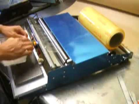 SOLPACK.US - HAND WRAPPING MACHINE - YouTube