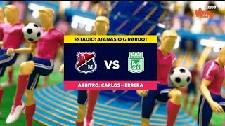 Medellin vs Nacional - Resumen y mejores momentos - Liga Aguila 2019-II   Fecha 10
