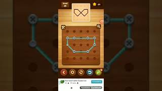 Line Puzzle:String Art. Spruce Level 25. Walkthrough