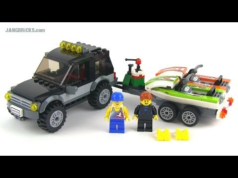 LEGO City 60058 SUV with Watercraft 2014 set Review!
