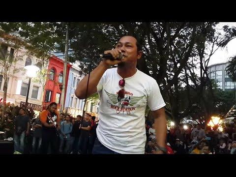 ku dihalaman rindu-otaii dari singapore suara power feat Sentuhan buskers cover lefthanded