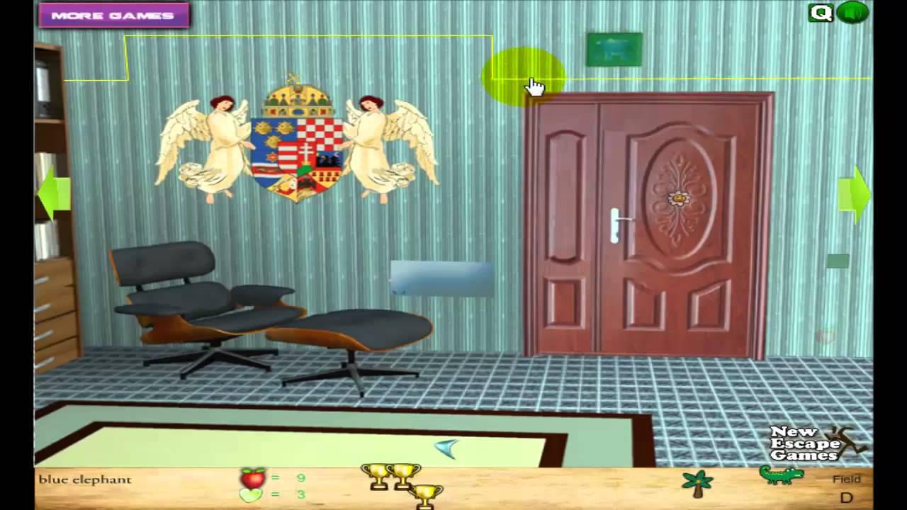 Cartoon Chairs Escape Walkthrough