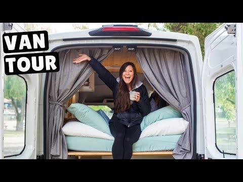 VAN LIFE TOUR | Driving Converted Ford Transit Van Across Canada
