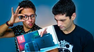 O Console MAIS PROCURADO DO MUNDO - Unboxing Nintendo Switch