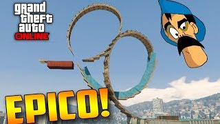 LOOPING REMIX DO MAYCONCOD - GTA V ONLINE Funny Moments GTA 5 PS4