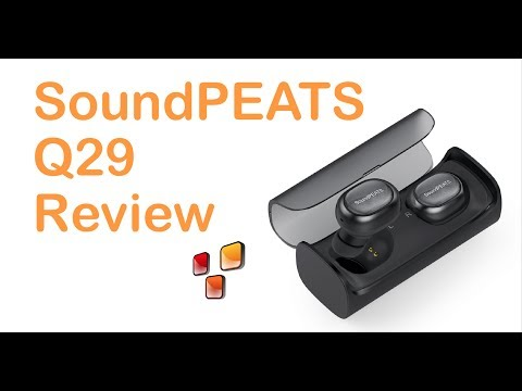 SoundPEATS Q29 REVIEW cuffie Bluetooth 4.1 in-ear