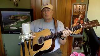 366b    Walk On The Ocean    Toad The Wet Sprocket cover    vocals acoustic guitar amp chords