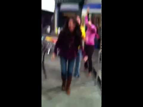 Selena Gomez, Jake T. Austin & María Canals Barrera Doing The Dougie