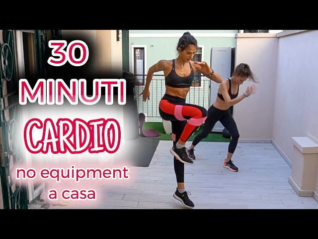 30 min, 2 circuiti: Power Cardio a casa | Week 3 | Silvia Fascians