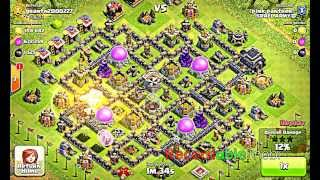 Clash Of Clans- Healer and Hog Rider Revenge Tactics