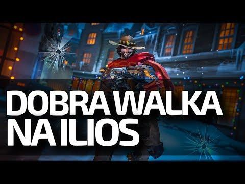 DOBRA WALKA NA ILIOS! - Ranked Overwatch