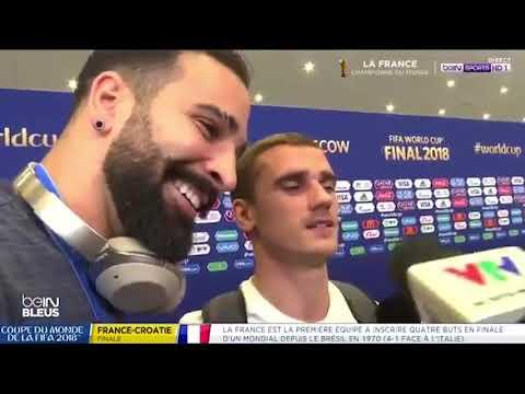 Antoine Griezmann et Adil Rami racontent comment les bleus sont devenu champions du monde