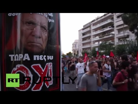 LIVE: Athenians call for 'no' vote two days ahead of referendum