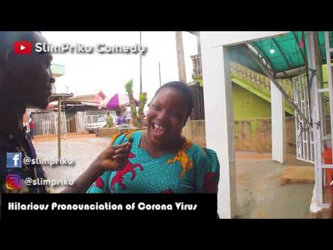 How Benin Women Pronounce Corona Virus   Very Funny Slim Pri
