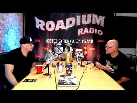 ESTEVAN ORIOL - EPISODE 45- ROADIUM RADIO - TONY VISION - HOSTED BY TONY A.