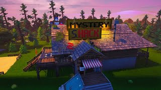 Comment ESCAPE THE MYSTERY SHACK (GRAVITY FALLS) Fortnite Creative Island (avec code)