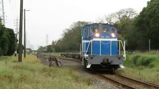 2018年10月15日 京葉臨海鉄道 北袖分岐を通過する506列車