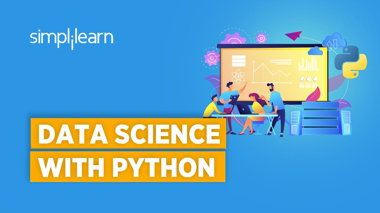 Data Science With Python | Python For Data Science | Data Science For Beginners