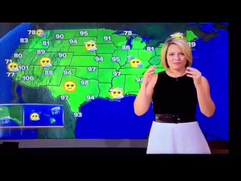 TODAY Show Weather Blooper 07.10.15 - YouTube