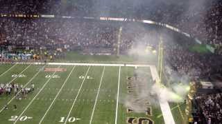 Superdome Saints D Intro- 9/30/13- Saints vs Dolphins