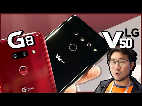 ลองเล่น LG G8 และ V50 รุ่น 5G ล้ำๆ | Droidsans - วันที่ 12 Mar 2019