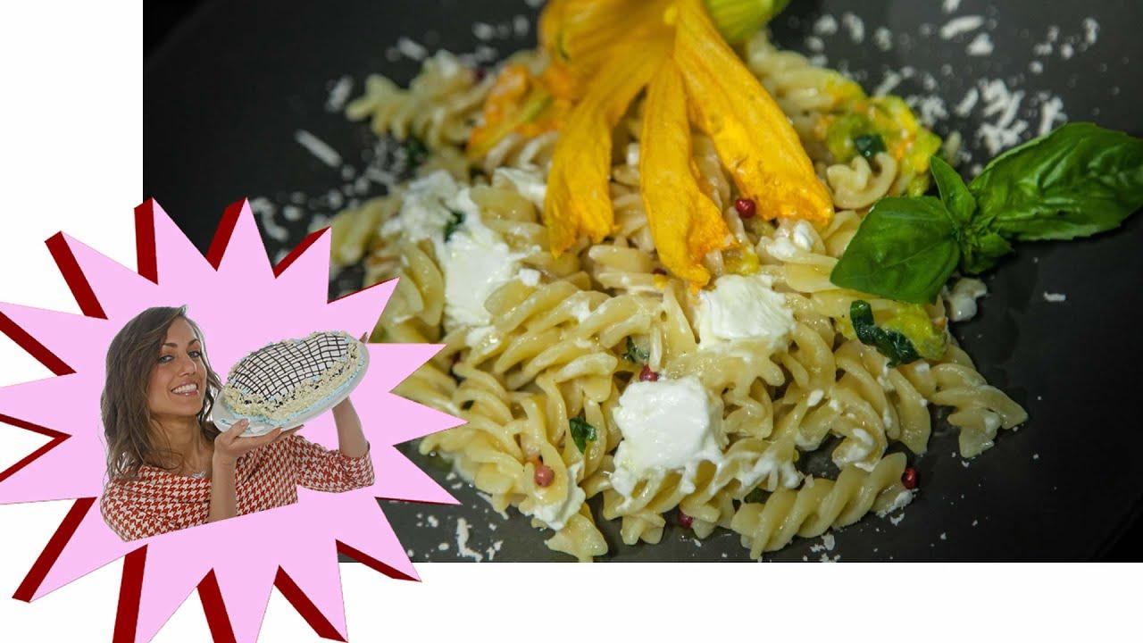 Pasta Con Fiori Di Zucca