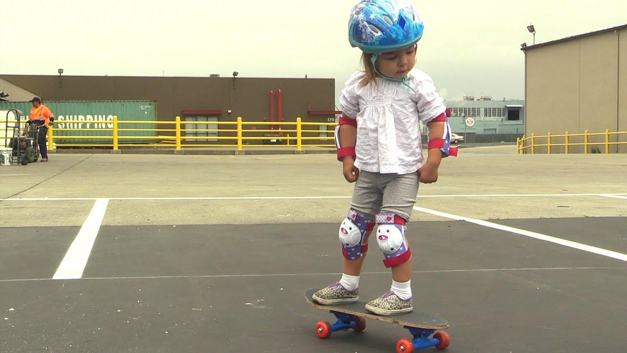 Year Old Skateboard Size