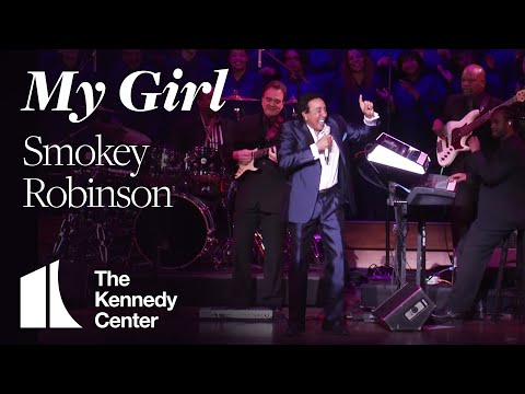 """Smokey Robinson - """"My Girl""""    LIVE at The Kennedy Center (2013)"""