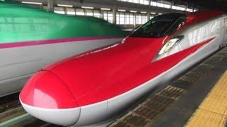 2014 新幹線映像集 迫力の高速通過編 東北新幹線 Shinkansen video collection thumbnail