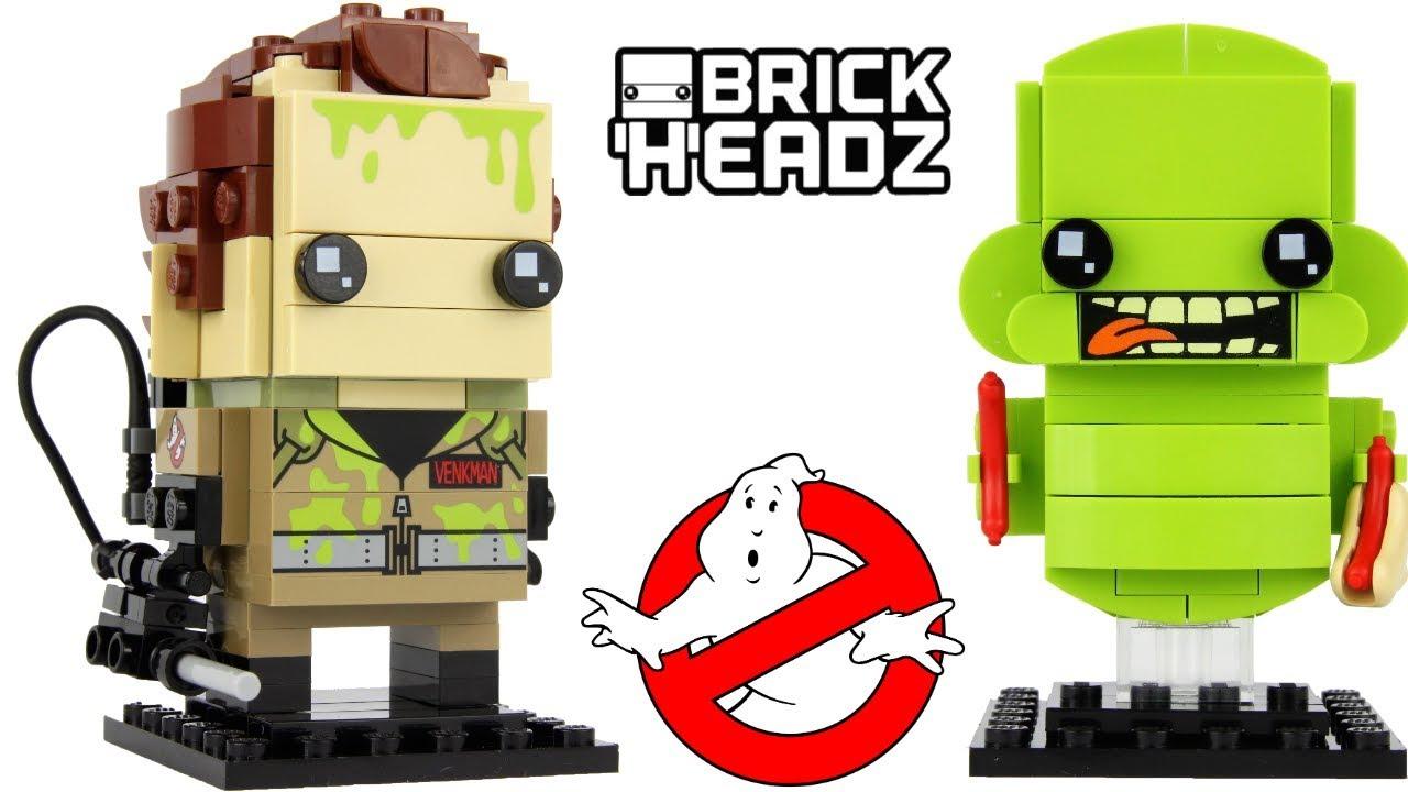 Lego Brickheadz # 41622 Ghostbusters Venkman /& Slimer Brand New