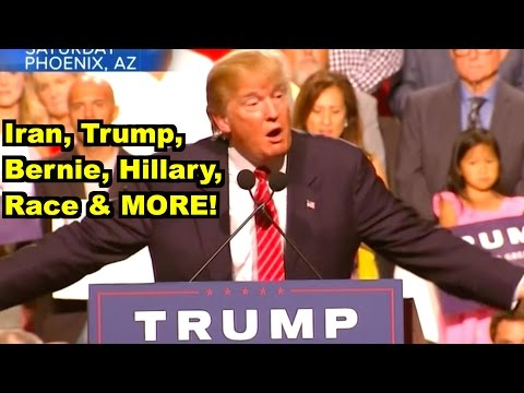 Iran, Trump, Hillary, Bernie, Race- David Letterman, Donald Trump MORE! LV Sunday Clip Round-Up 116