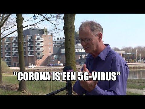 Zien: complotdenker verklaart corona-pandemie