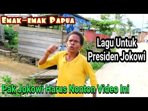 Bikin Terharu ! Emak-emak Papua Menyanyikan Ini Lagu Untuk Presiden Jokowi