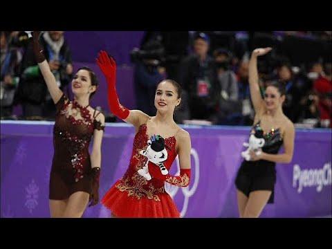 الروسية زاخيطوفا تفوز بالميدالية الذهبية وتصبح رمز التزحلق على الجليد…  - 20:21-2018 / 2 / 23