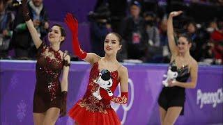 الروسية زاخيطوفا تفوز بالميدالية الذهبية وتصبح رمز التزحلق على الجليد…