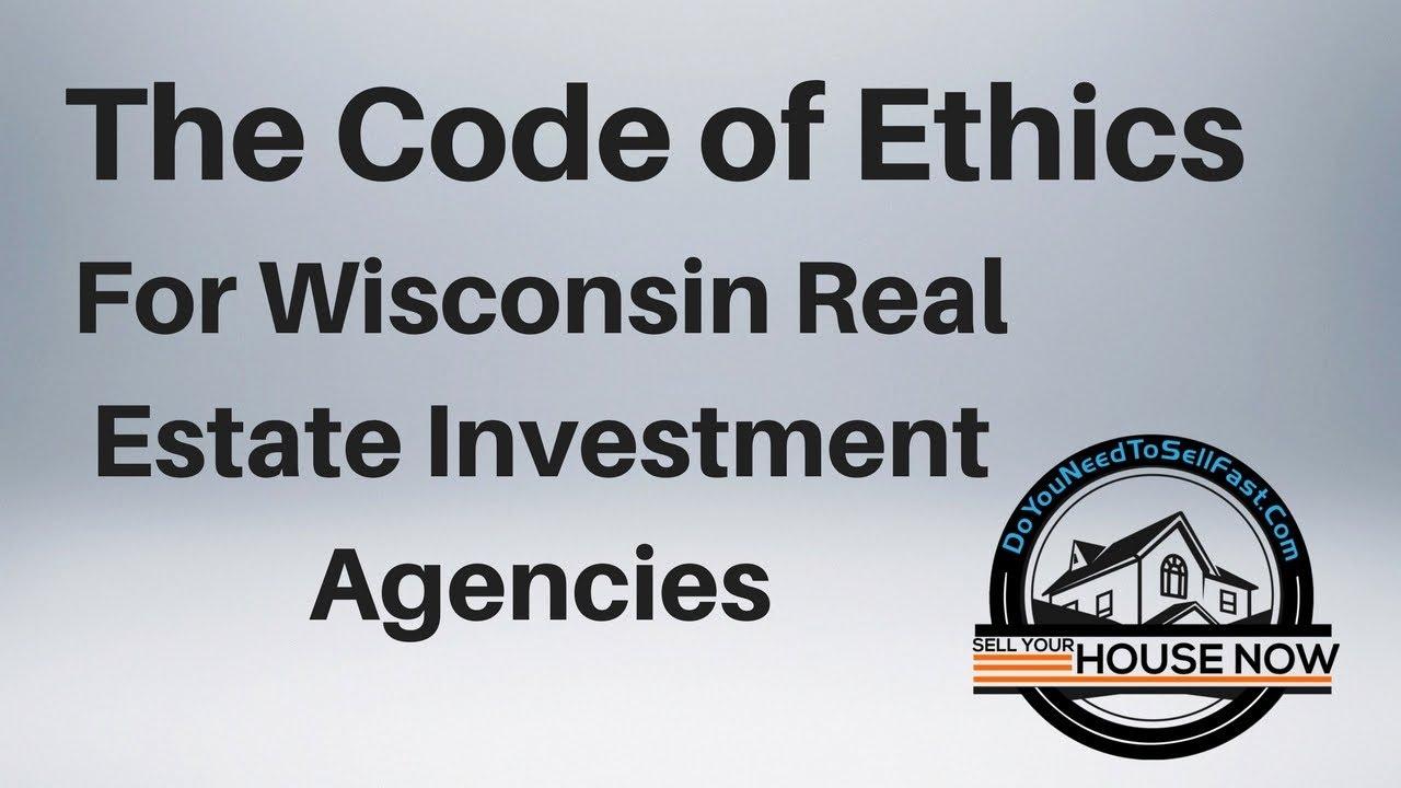 Code of Ethics | DoYouNeedToSellFast.com