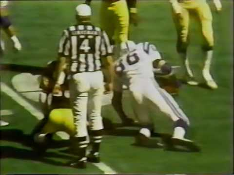 1979 Steelers 17 vs Colts 13